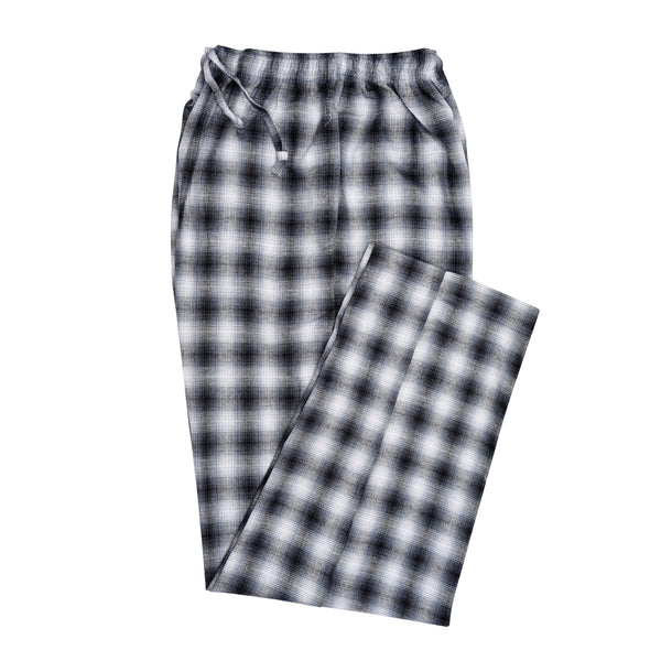 Black And White Check Relaxing Pajama
