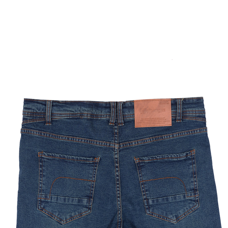 Dark Blue Smart Fit Men Denim Jeans