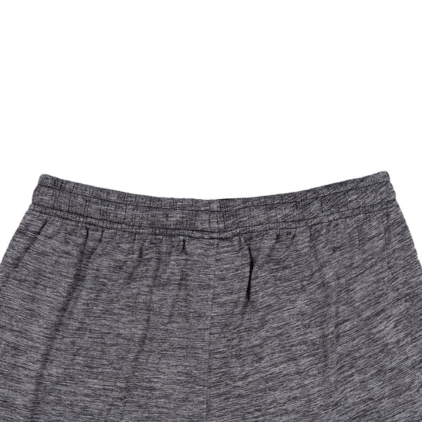 Light Grey And Black Gym Short