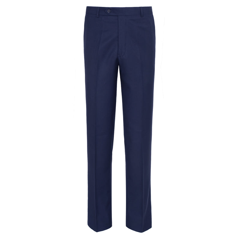 Navy Blue Classic Fit Formal Trouser