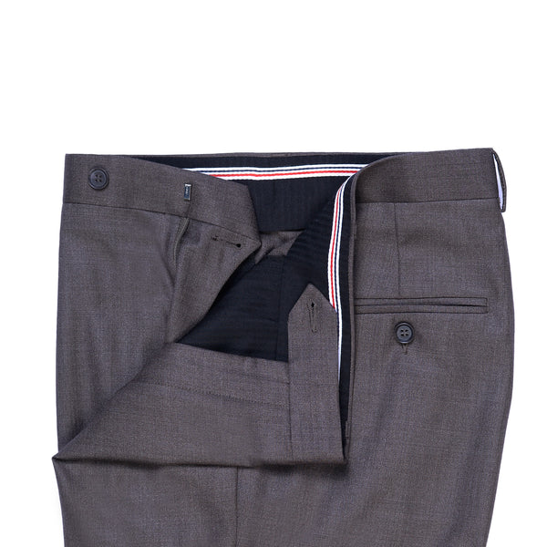 Taupe Grey Smart Fit Formal Trouser