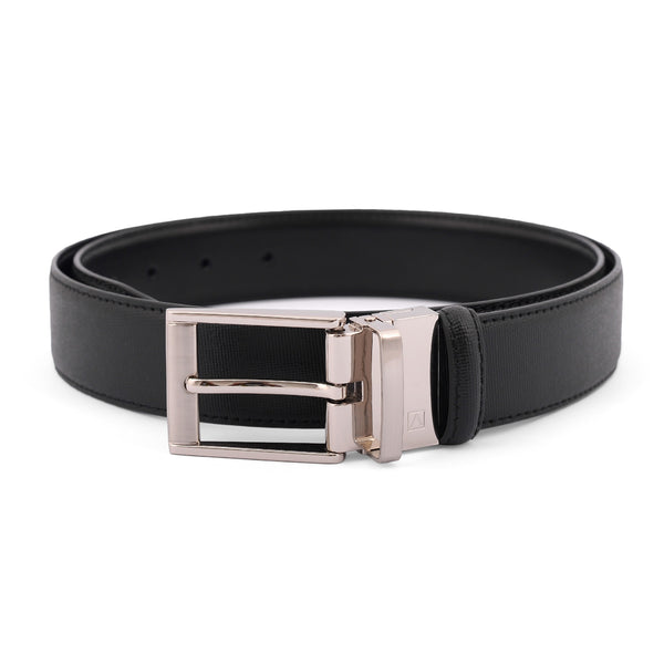 Black Dotted Pin Buckle Belt