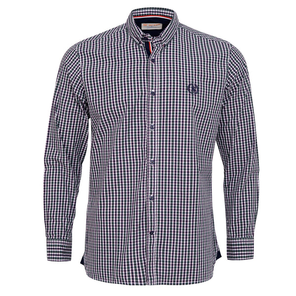 Multi Check Casual Full Sleeve Shirt-M