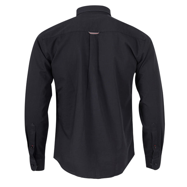 Black Full Sleeve Casual Smart Fit Shirt
