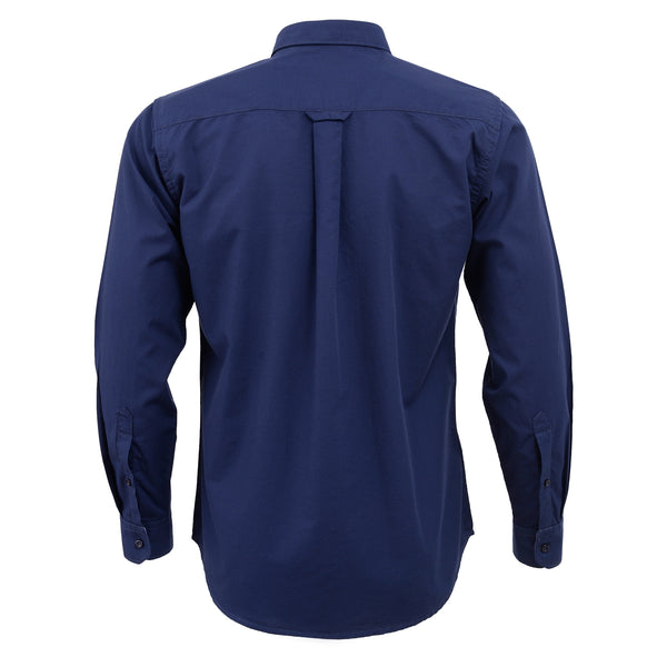 Navy Blue Full Sleeve Casual Smart Fit Shirt