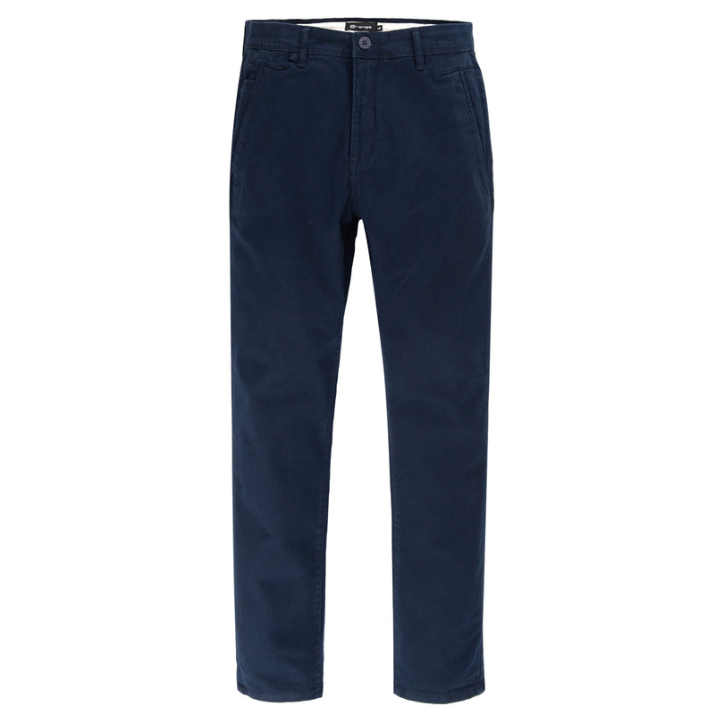 5 Pocket Navy Blue Smart Fit Chino Trouser-32
