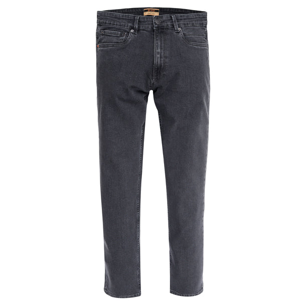 Charcoal Smart Fit Men's Denim Jeans-30