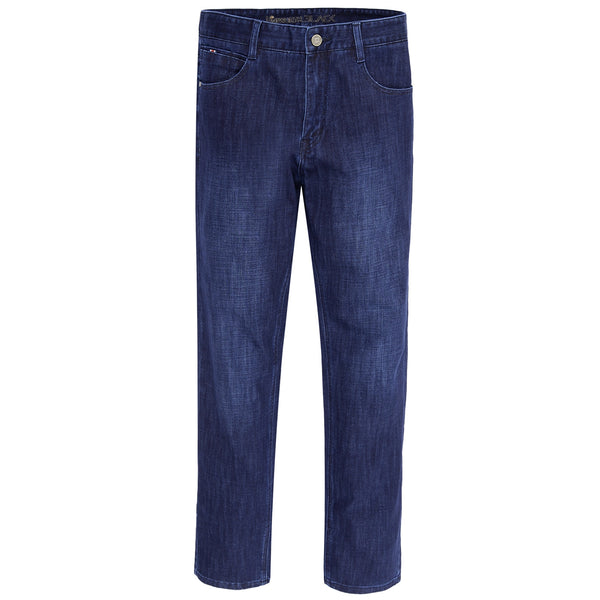 Medium Blue Smart Fit Men Denim Jeans-34