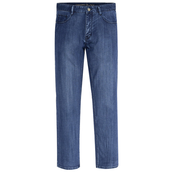 Blue Smart Fit Men Denim Jeans-32