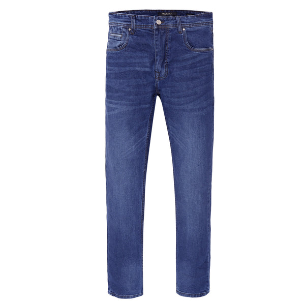 Blue Smart Fit Men's Denim Jeans-32