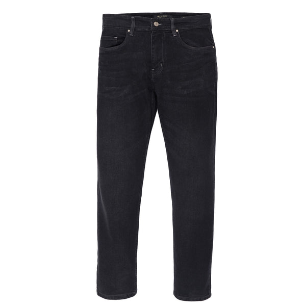 Charcoal Straight Fit Men's Denim-34