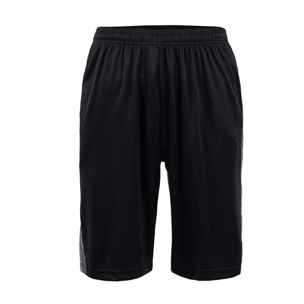 Light Grey And Black Gym Short-L