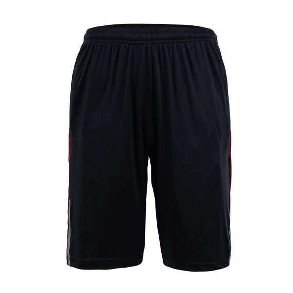 Crimson And Black Gym Short-L