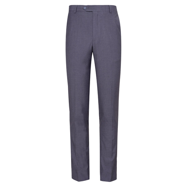 Grey Smart Fit Formal Trouser-34