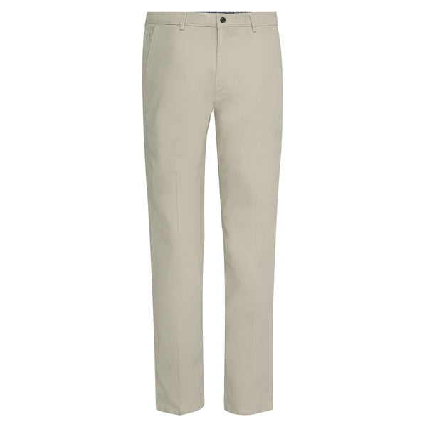 Stone Fawn Smart Fit Cotton Trouser-32