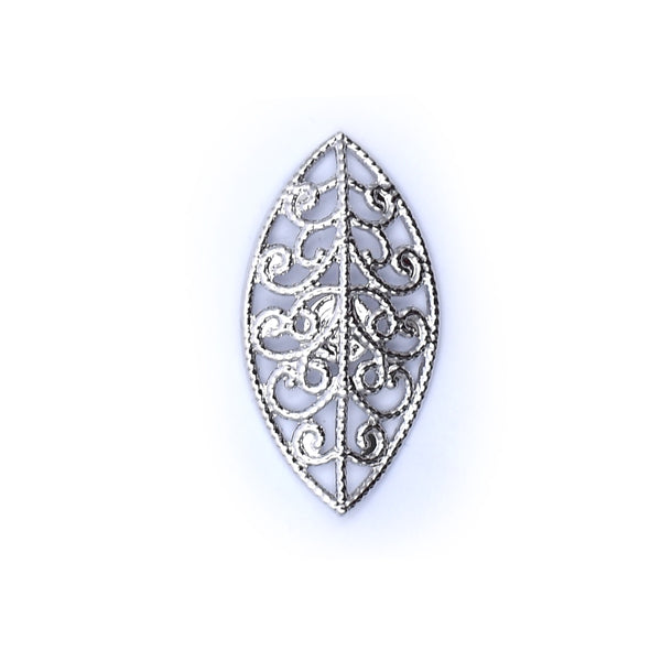 Silver Art Lapel Pin