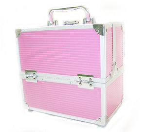 Miami Pink Small Locking Beauty Case