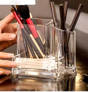 cotton bud and Cosmetic Organiser