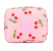 Load image into Gallery viewer, Pink Travel Cosmetic Wash Bag