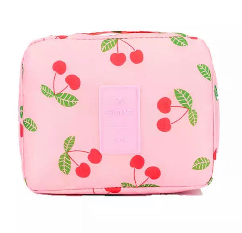 Pink Travel Cosmetic Wash Bag