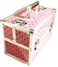 Load image into Gallery viewer, Large Pink Heart cosmetic Beauty Case