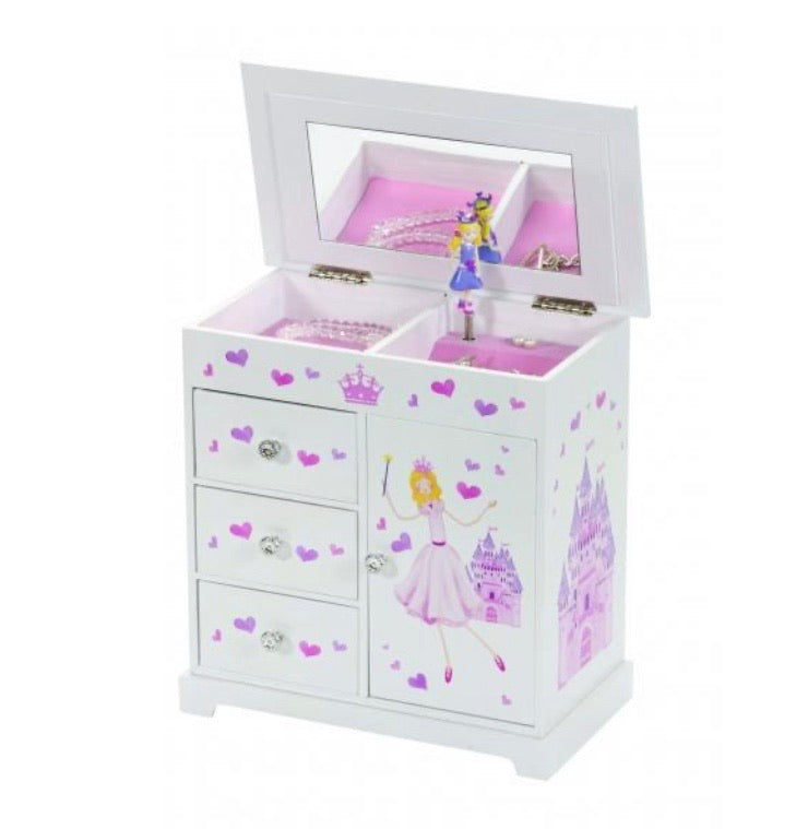 Childrens Princess Musical Jewellery Box