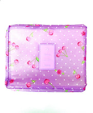 Load image into Gallery viewer, Purple Travel Cosmetic Wash Bag