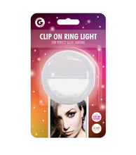 Load image into Gallery viewer, Clip on Selfie Ring Light with 36 LEDs