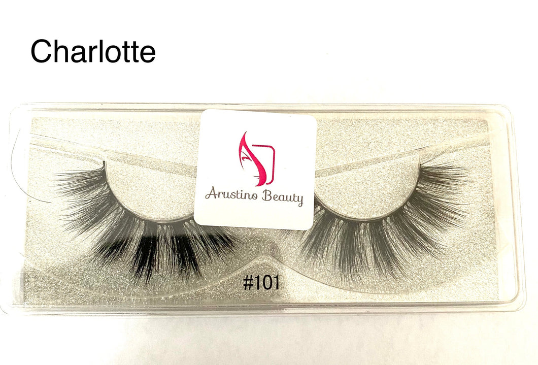 False Eyelashes Charlotte Style