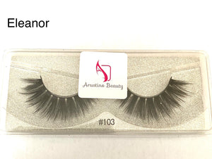 3D style Eleanor Mink Lashes. #103