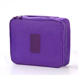 Purple Travel Cosmetic Wash Bag