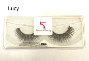 3D style Lucy Mink Lashes. #107