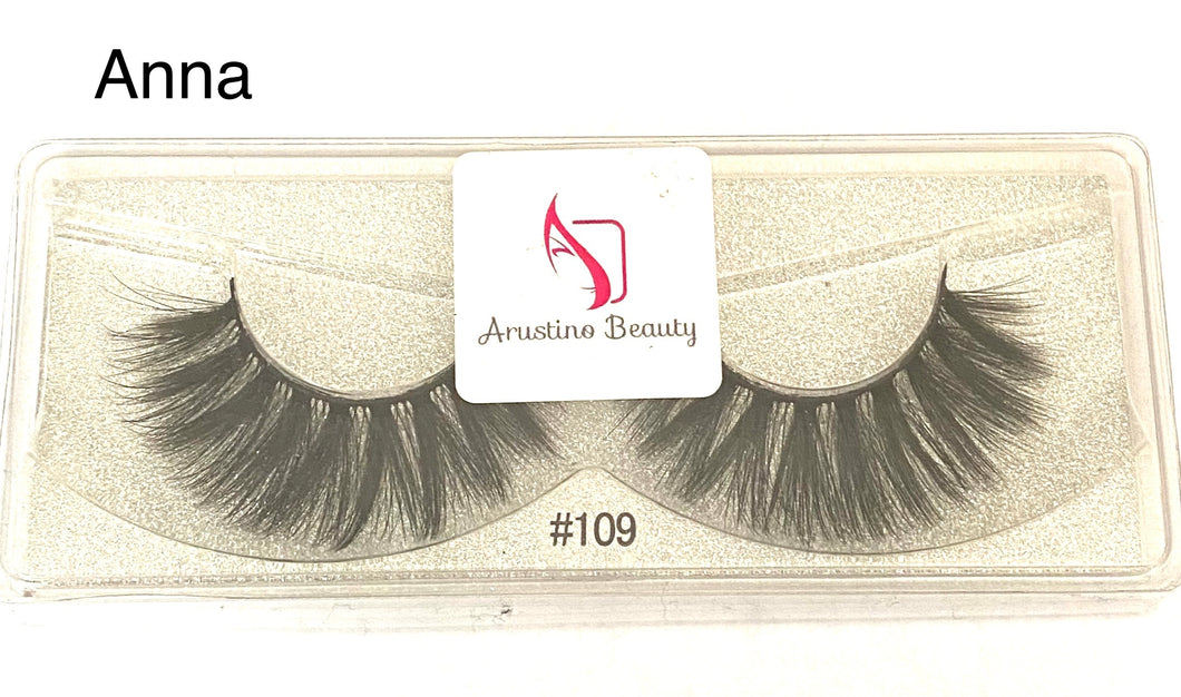 False Eyelashes Anna Style