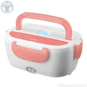 Electrische Lunch Box - Roze / Auto Stekker €29.95