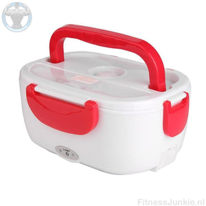 Electrische Lunch Box - Rood / Auto Stekker €29.95
