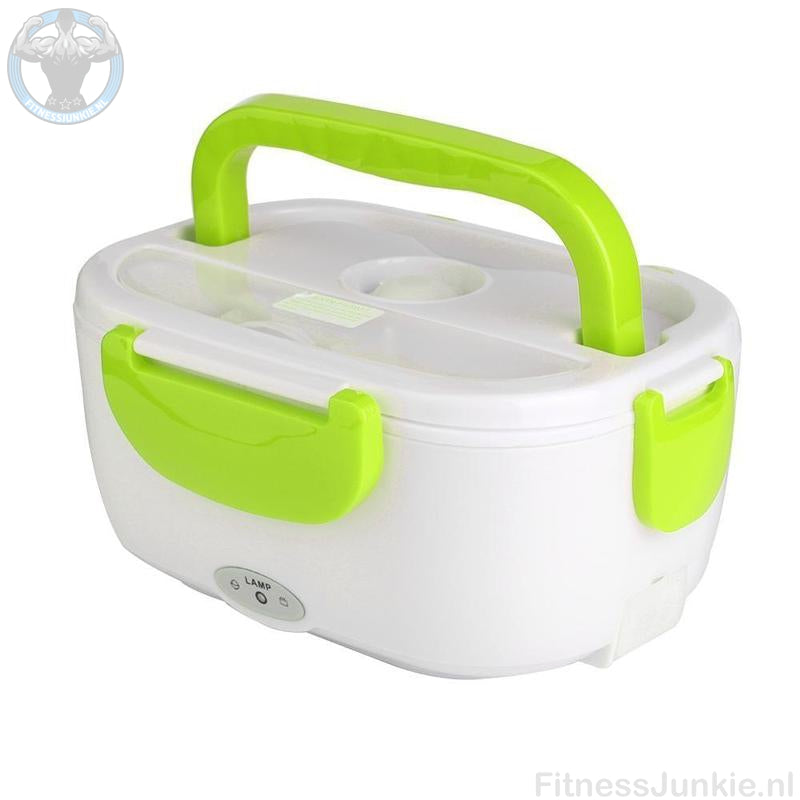 Electrische Lunch Box - Groen / Auto Stekker €29.95