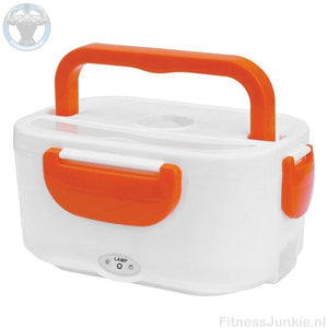 Electrische Lunch Box - Oranje / Auto Stekker €29.95