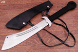 24 INCHES CUSTOM HAND MADE STAINLESS STEEL HUNTING KNIFE DAGGER AH-268