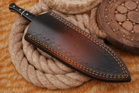 "8 Inches"" Hand Made Pure Leather Sheath For Dagger Blade Knife AH-1357"