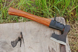High Carbon Steel Axe Hatchet Tomahawk Axe With Rose Wood Handle AH-1392
