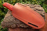 Hand Made Pure Leather Sheath For Fixed Blade Knife AH-1317