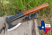 High Carbon Steel Axe Hatchet Tomahawk Axe With Rose Wood Handle AH-1394