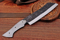 1095 Hand Forged Railroad Spike Blank Blade Meat Cleaver Knife AH-1220