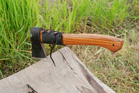 High Carbon Steel Axe Hatchet Tomahawk Axe With Rose Wood Handle AH-1393