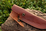 Hand Made Pure Leather Sheath For Fixed Blade Knife AH-1315