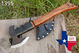 High Carbon Steel Axe Hatchet Tomahawk Axe With Rose Wood Handle AH-1395