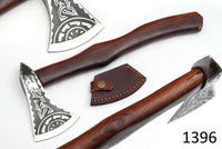 High Carbon Steel Axe Hatchet Tomahawk Axe With Rose Wood Handle AH-1396