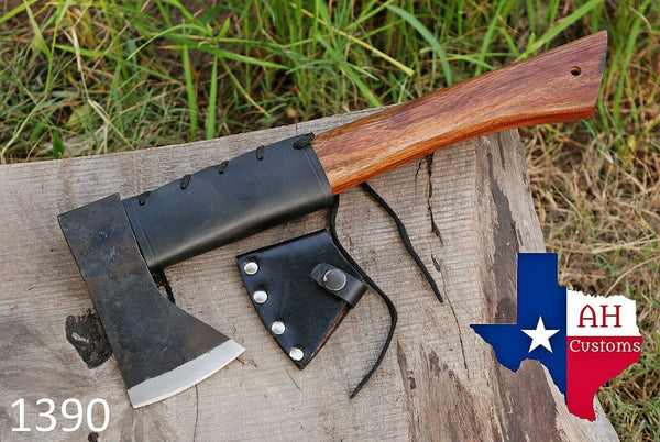 High Carbon Steel Axe Hatchet Tomahawk Axe With Rose Wood Handle AH-1390