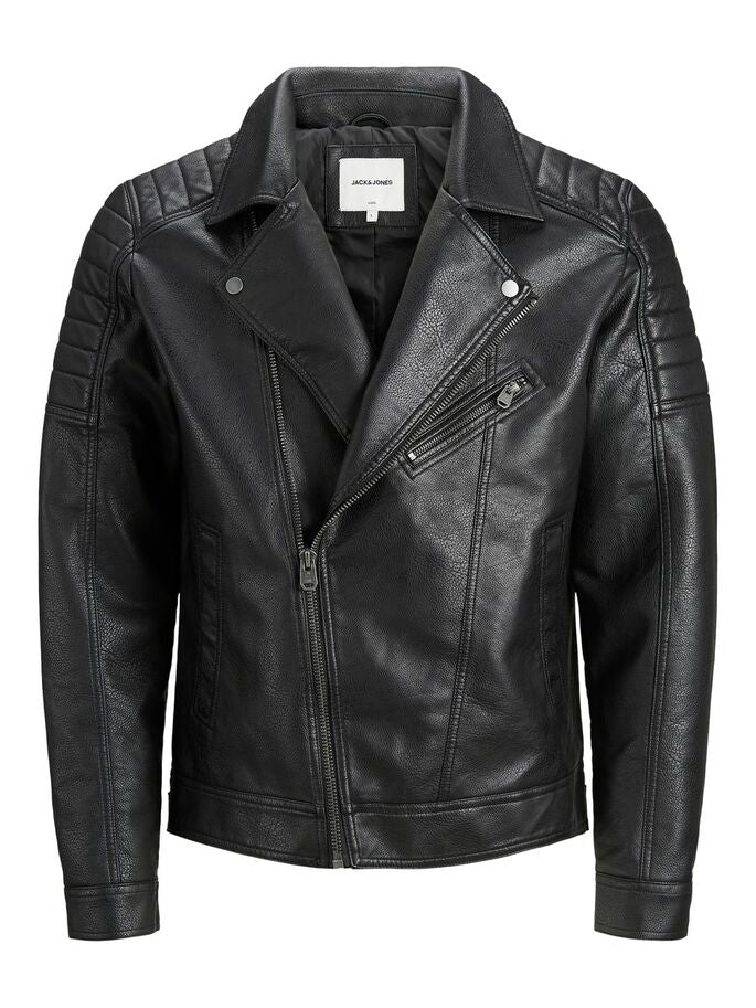 GIACCA DA BIKER IN SIMILPELLE JACK & JONES 12165488