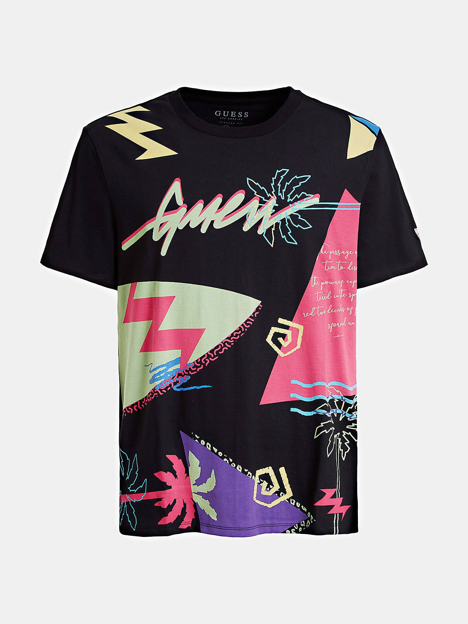 "T-SHIRT GUESS STAMPA ALL OVER ""Regular"" M0GI40I3Z00"